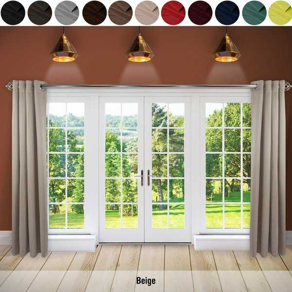 InStyleDesign Premium Extra Wide Heavyweight Curtain (1 Panel)