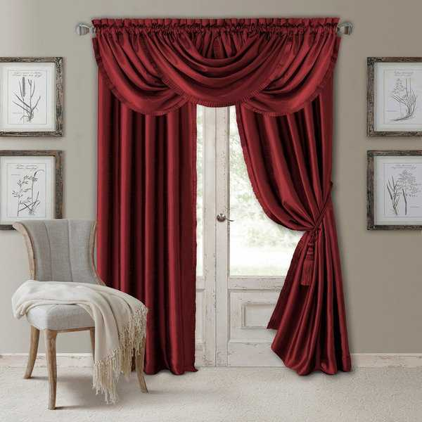 Elrene Versailles Pleated Room Darkening Curtain Panel
