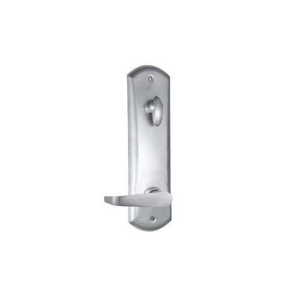 Kwikset 506KNL-S Kingston Single Cylinder Handleset with the Kingston Keyed Lever and SmartKey - Satin Chrome - N/A