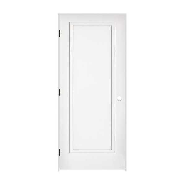 Trimlite 2168138-8491RH10B714 34' by 80' 2-Step Shaker 1-Panel Right Handed Inte - Primed - N/A